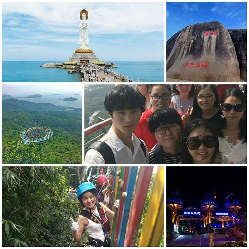 南海明珠三亚岛,踏浪行波瑞人云 ——瑞方人力2018年度旅游活动 第4张